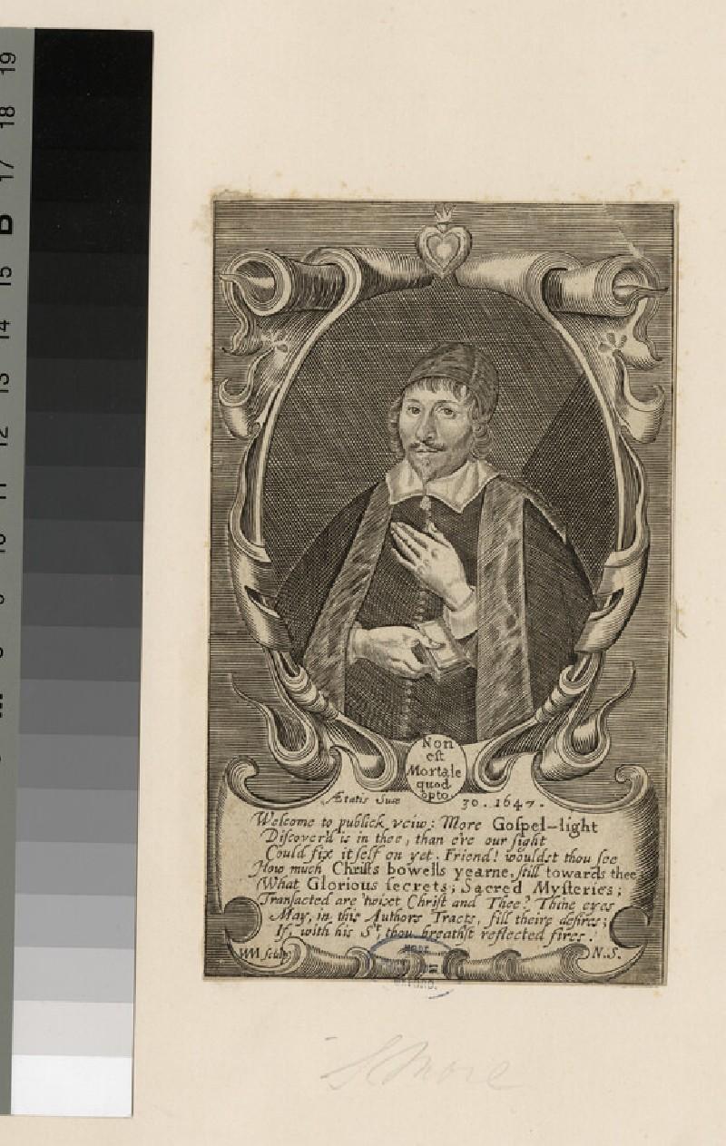 Portrait of Samuel Moore