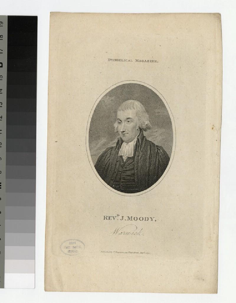 Portrait of J. Moody