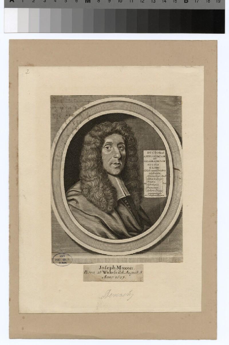 Portrait of J. Moxon (WAHP24223)