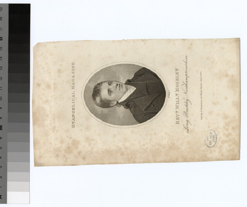 Portrait of W. Moseley (WAHP24233)
