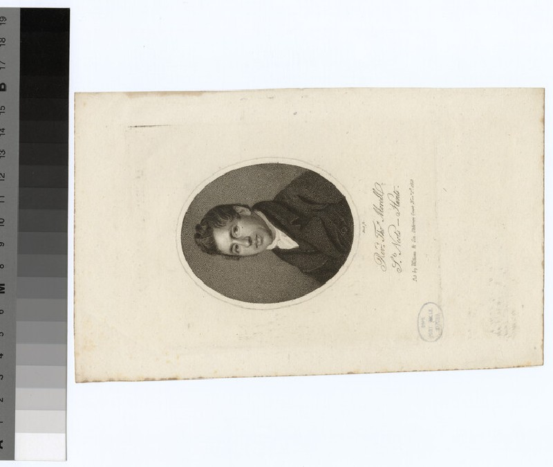 Portrait of T. Morrell (WAHP24254)