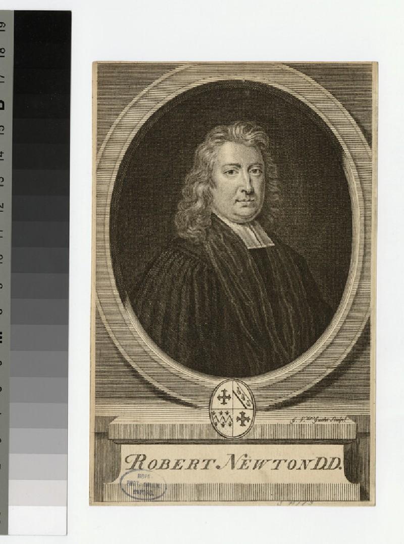 Portrait of Revd Dr Newton (WAHP24313)