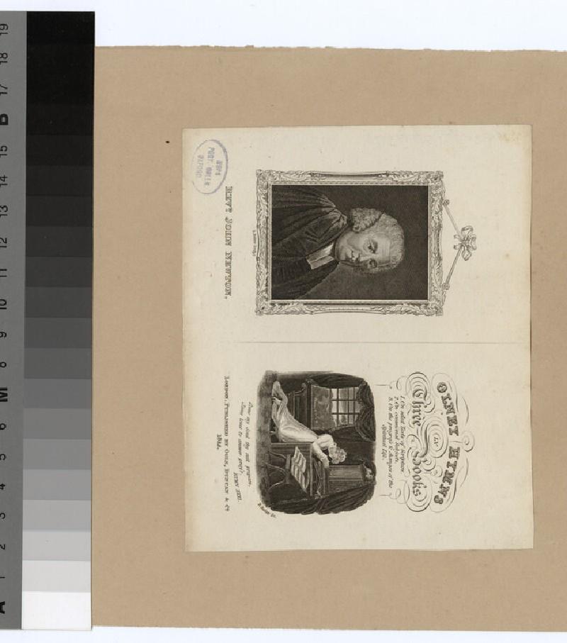 Portrait of J. Newton (WAHP24317)