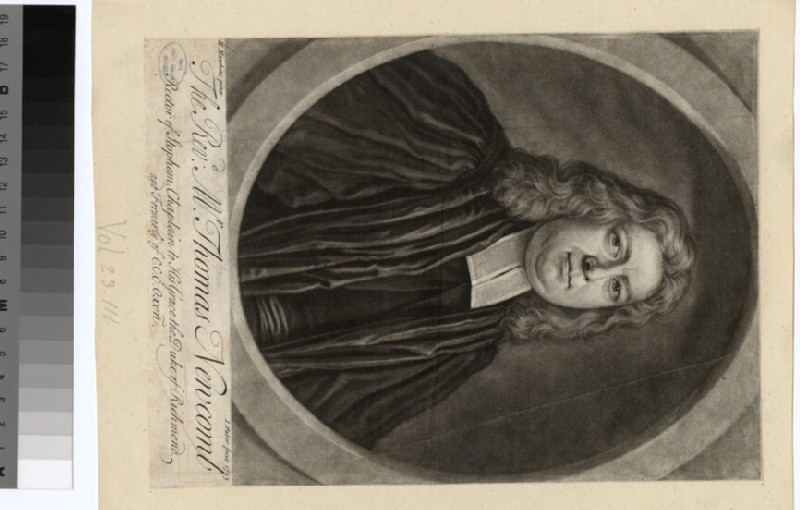 Portrait of Revd T. Newcomb (WAHP24321)