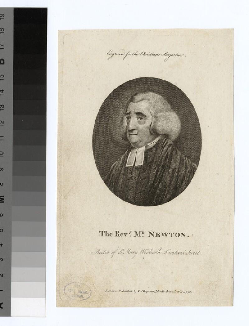 Portrait of Revd J. Newton