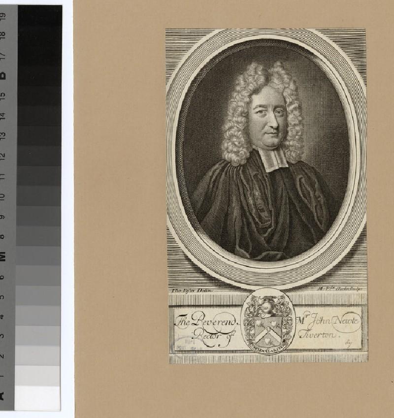 Portrait of Revd J. Newte (WAHP24331.1)