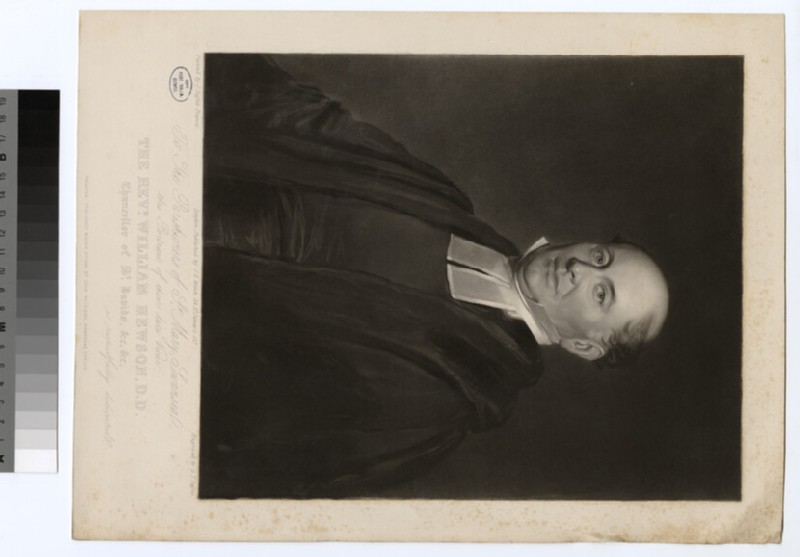 Portrait of Revd Dr W. Hewson (WAHP24334)