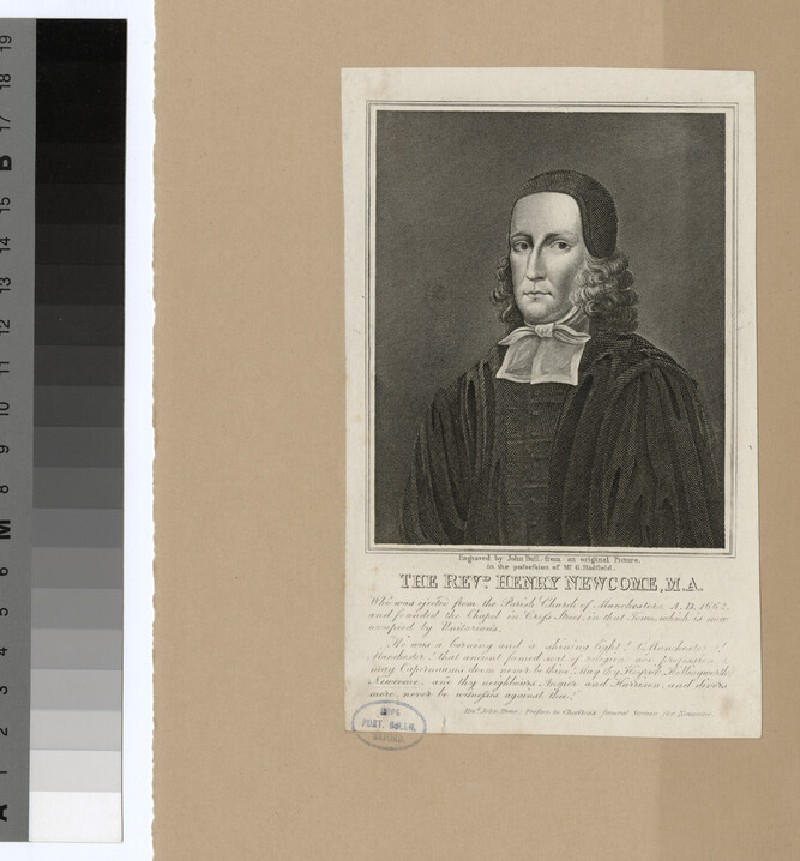 Portrait of H. Newcome (WAHP24343)