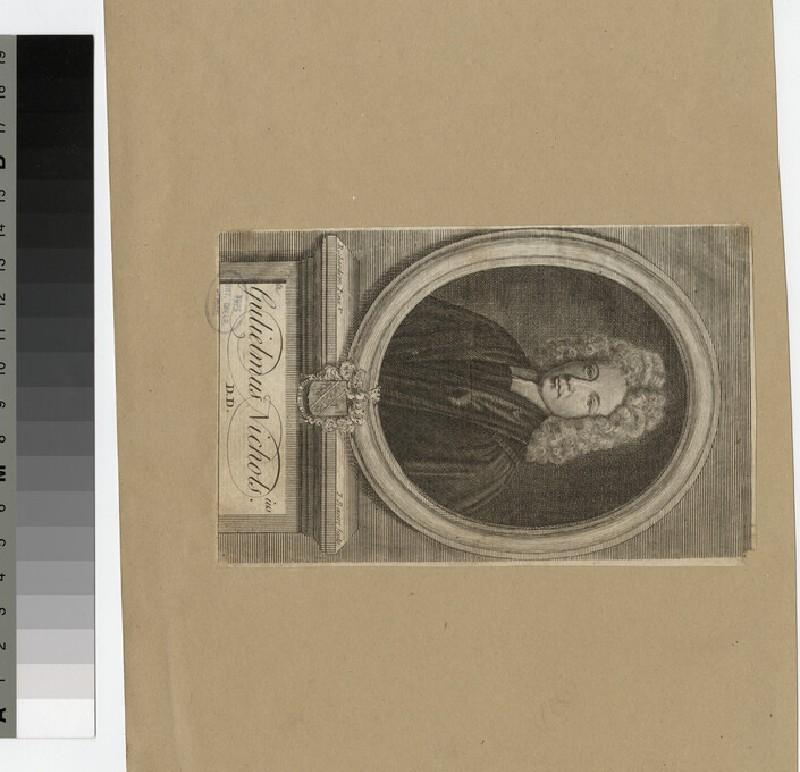 Portrait of Revd Dr W. Nichols