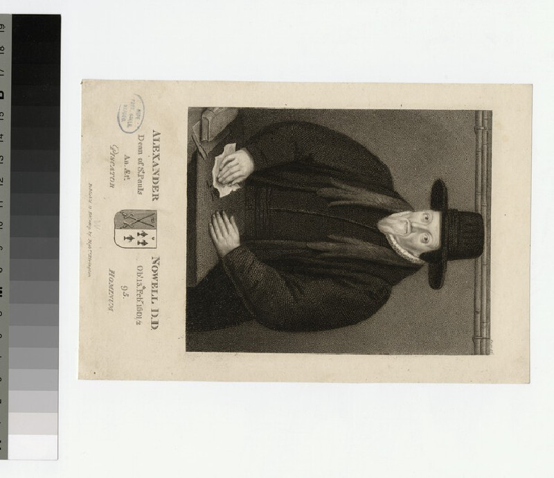 Portrait of Revd Dr T. Nowell (WAHP24350)