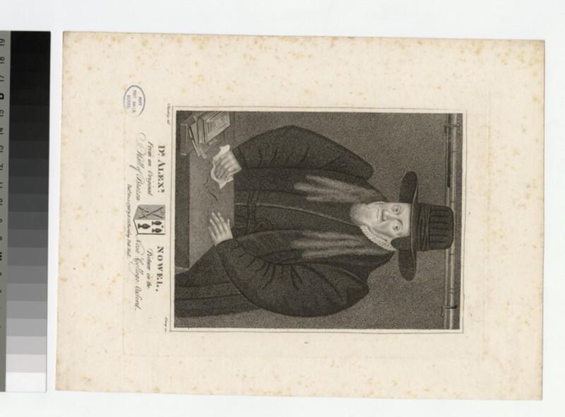 Portrait of Revd Dr A. Nowell