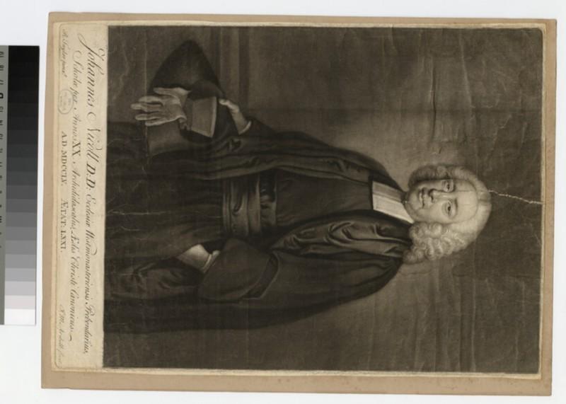 Portrait of Revd Dr J. Nicoll (WAHP24371)