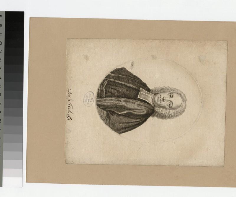 Portrait of Revd Dr J. Nichols
