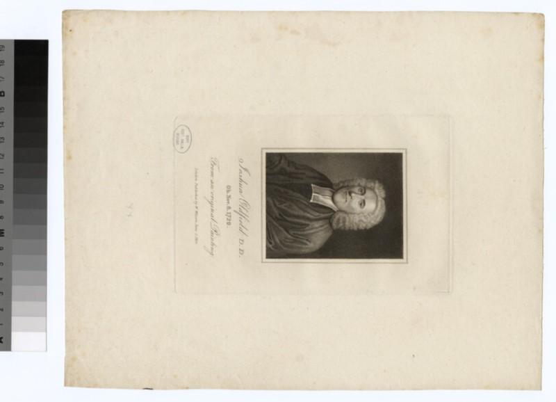 Portrait of J. Oldfield (WAHP24382)