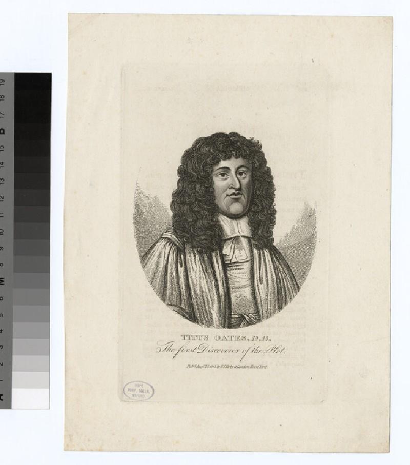 Portrait of T. Oates