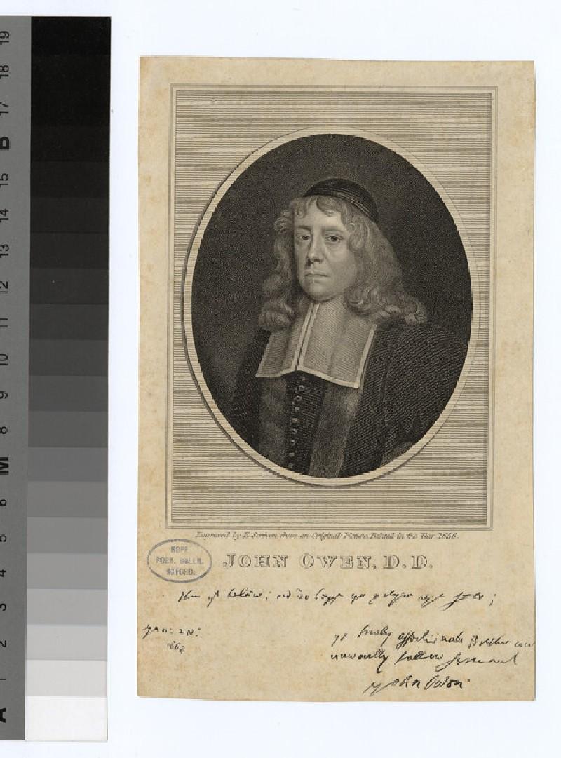 Portrait of J. Owen (WAHP24409)