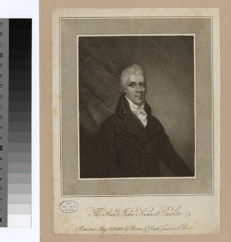 Portrait of J. K. Parker (WAHP24452)