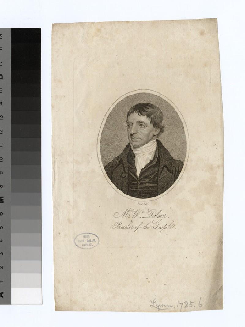 Portrait of W. Palmer