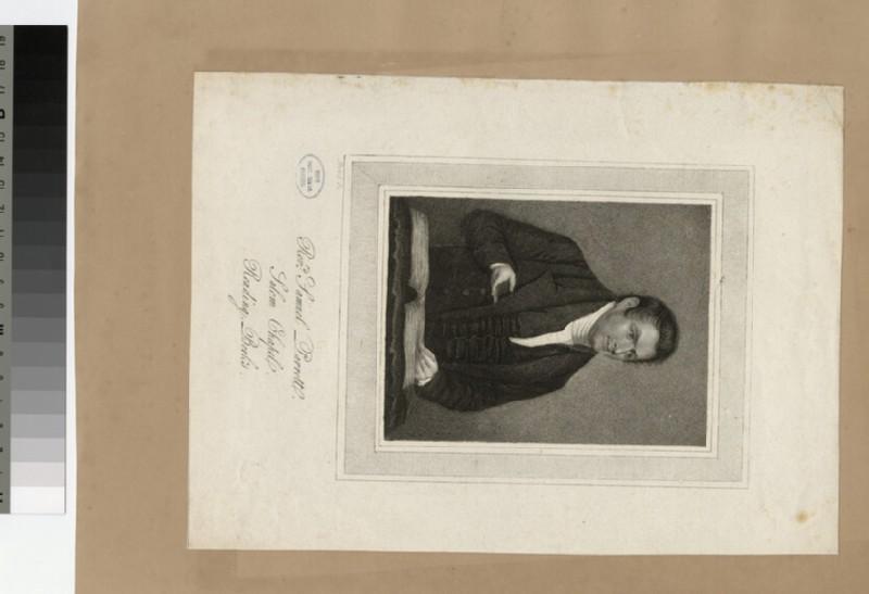 Portrait of S. Parrott