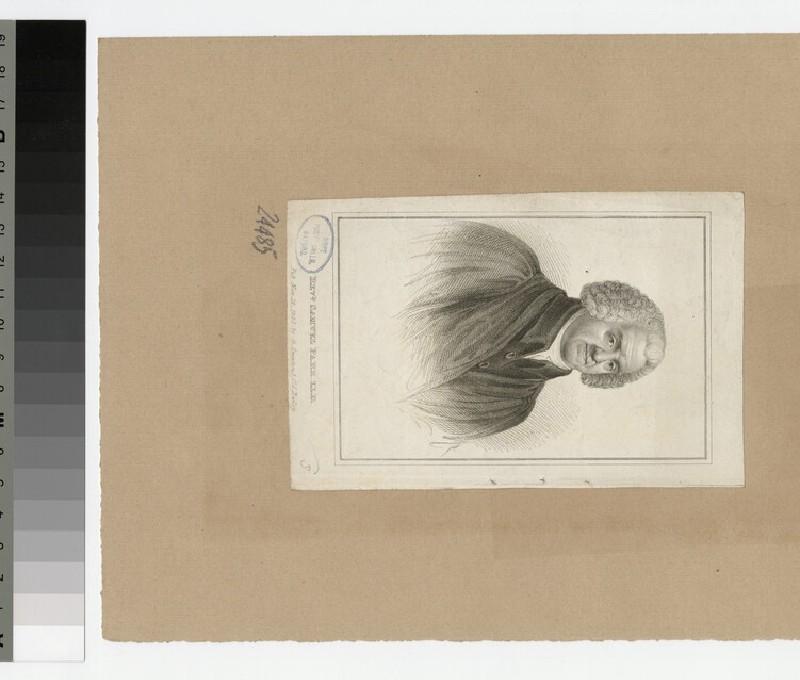 Portrait of Revd Dr S. Parr
