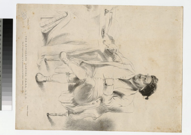 Portrait of Revd Dr Samuel Parr