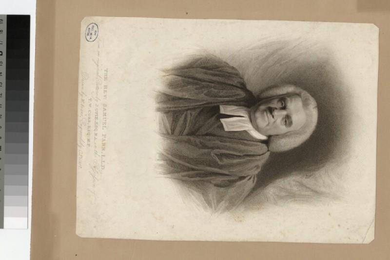 Portrait of the Revd Samuel Parr, LLD