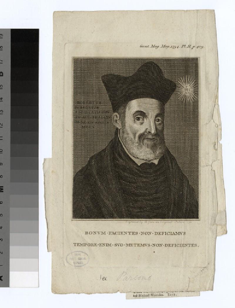 Portrait of R. Parsons