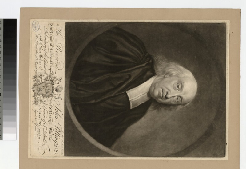 Portrait of Revd Dr J. Pelling
