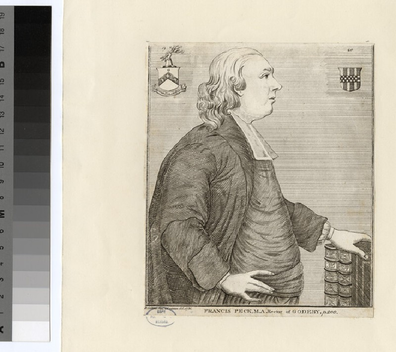Portrait of Revd F. Peck (WAHP24549.1)