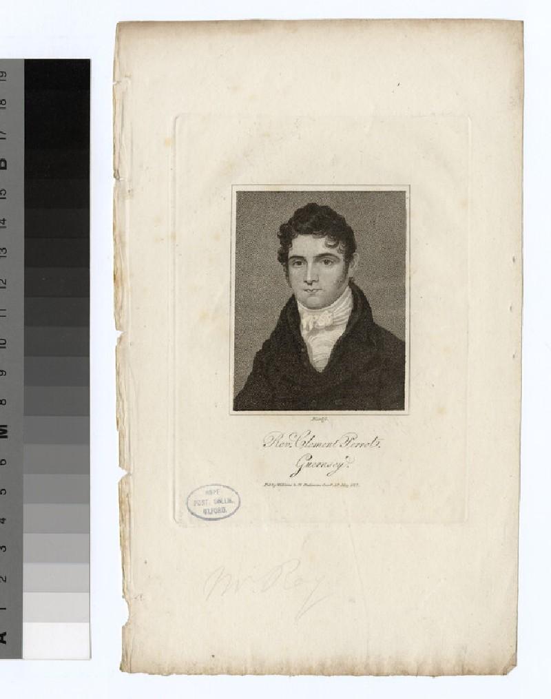 Portrait of C. Perrot