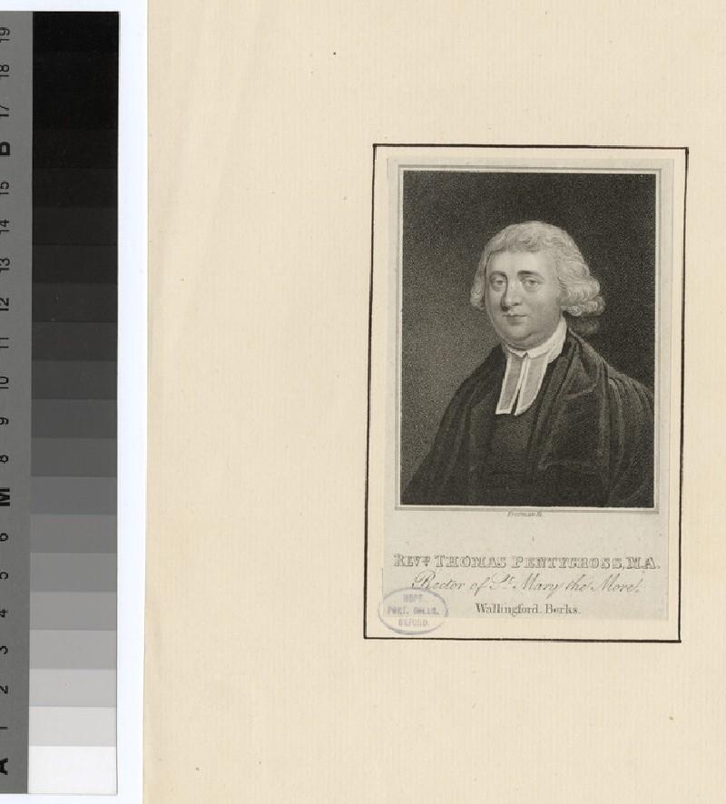 Portrait of T. Pentygross (WAHP24595)