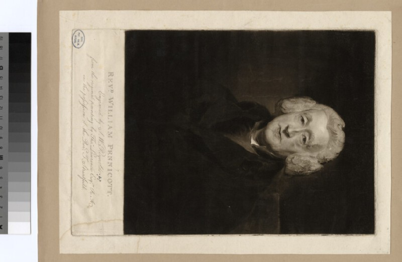 Portrait of W. Pennicott