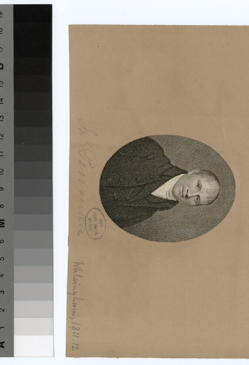 Portrait of Mr Penman