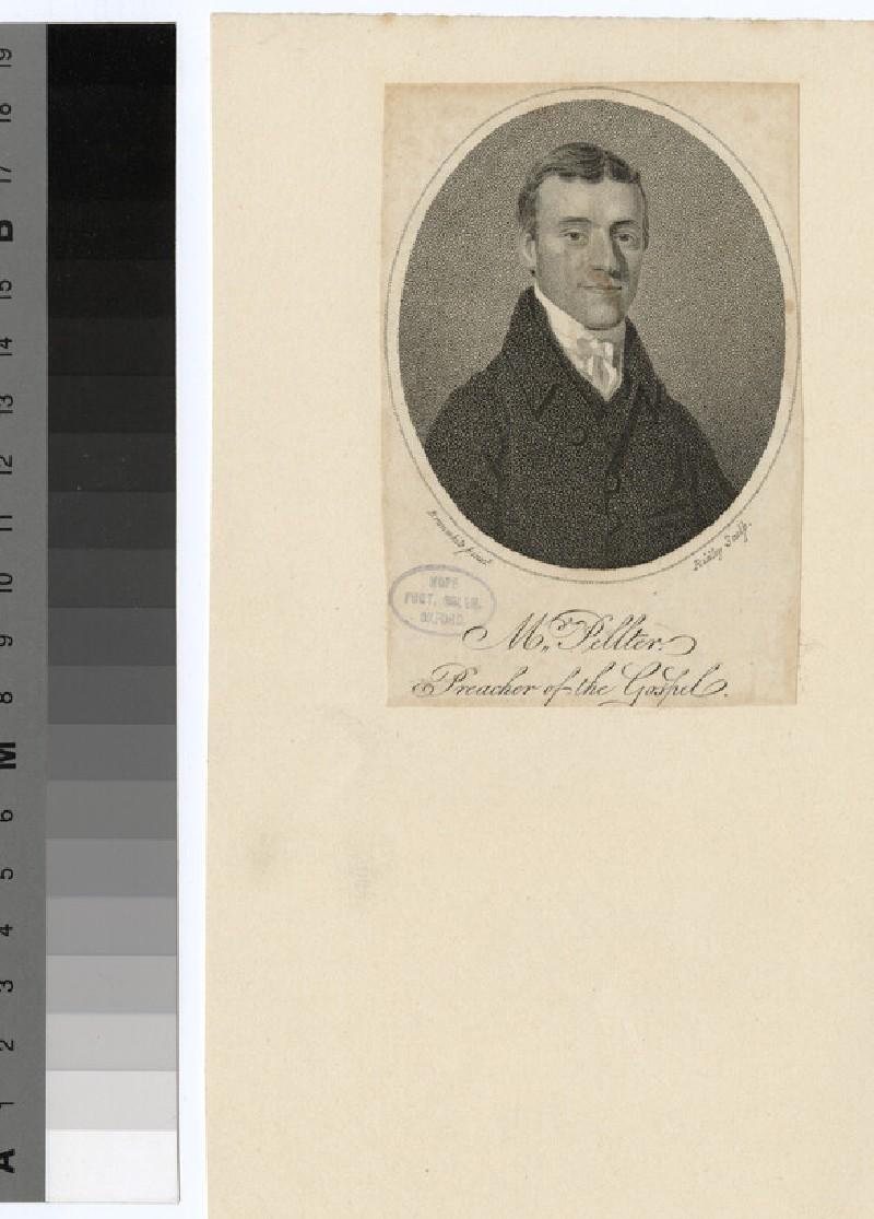 Portrait of Mr Pellter (WAHP24609)