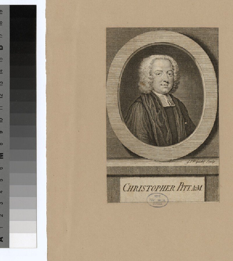 Portrait of C. Pitt (WAHP24617)