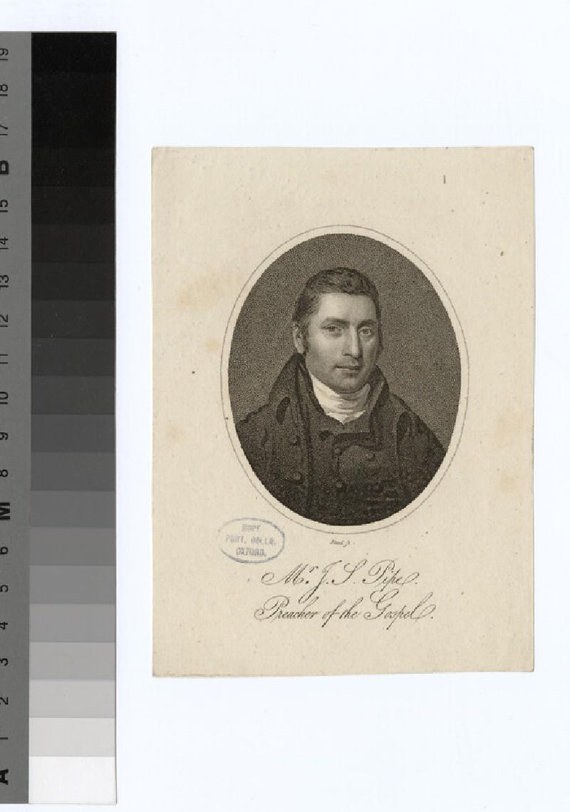 Portrait of J. S. Pipe
