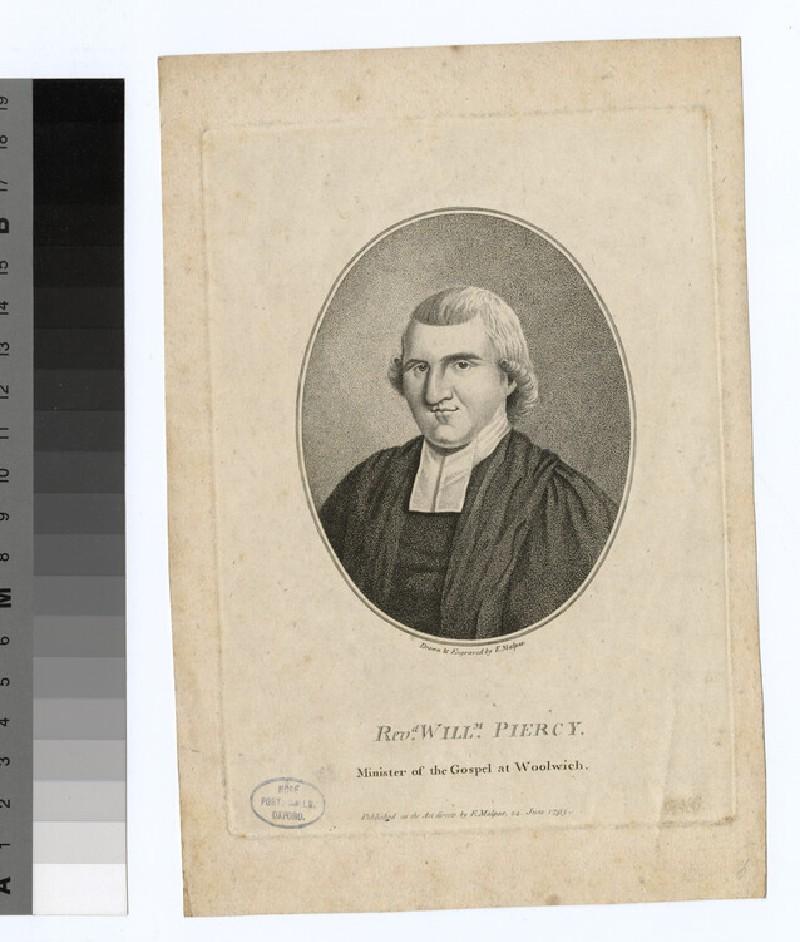 Portrait of W. Piercy