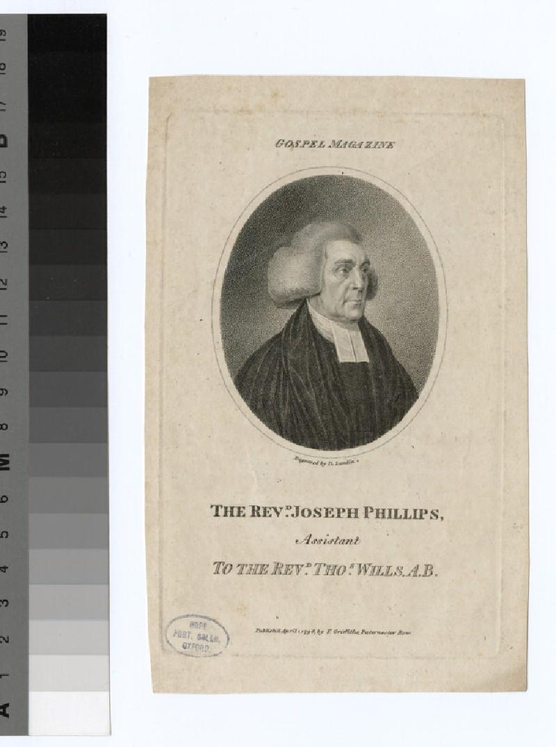 Portrait of J. Phillips
