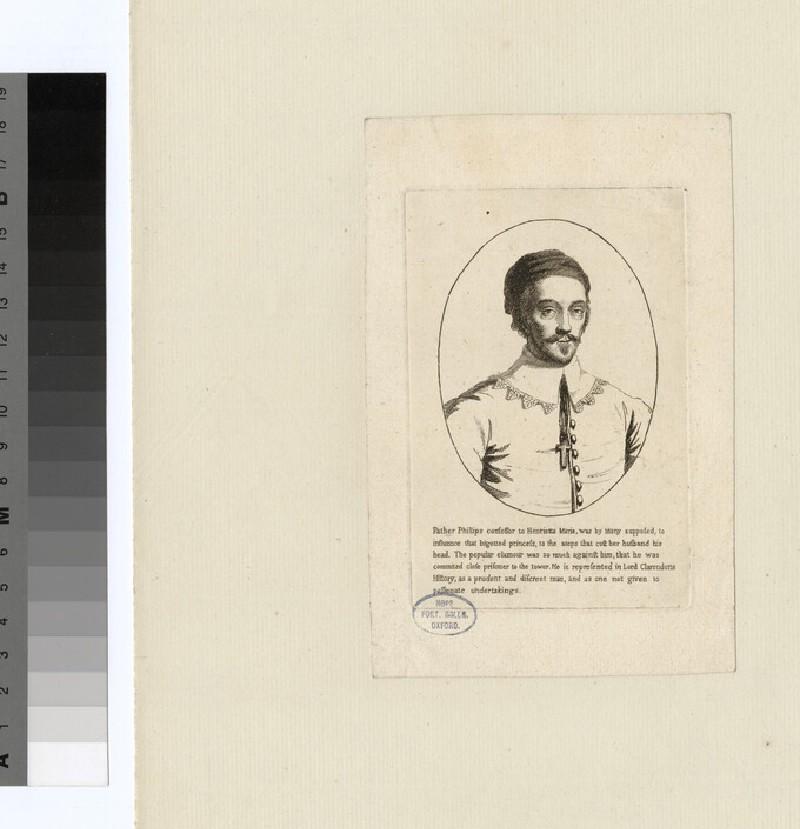 Portrait of Fr Phillips