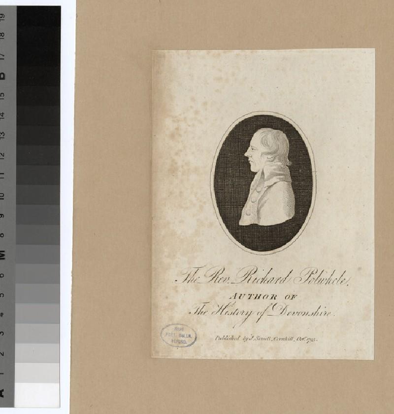 Portrait of R. Polwhele