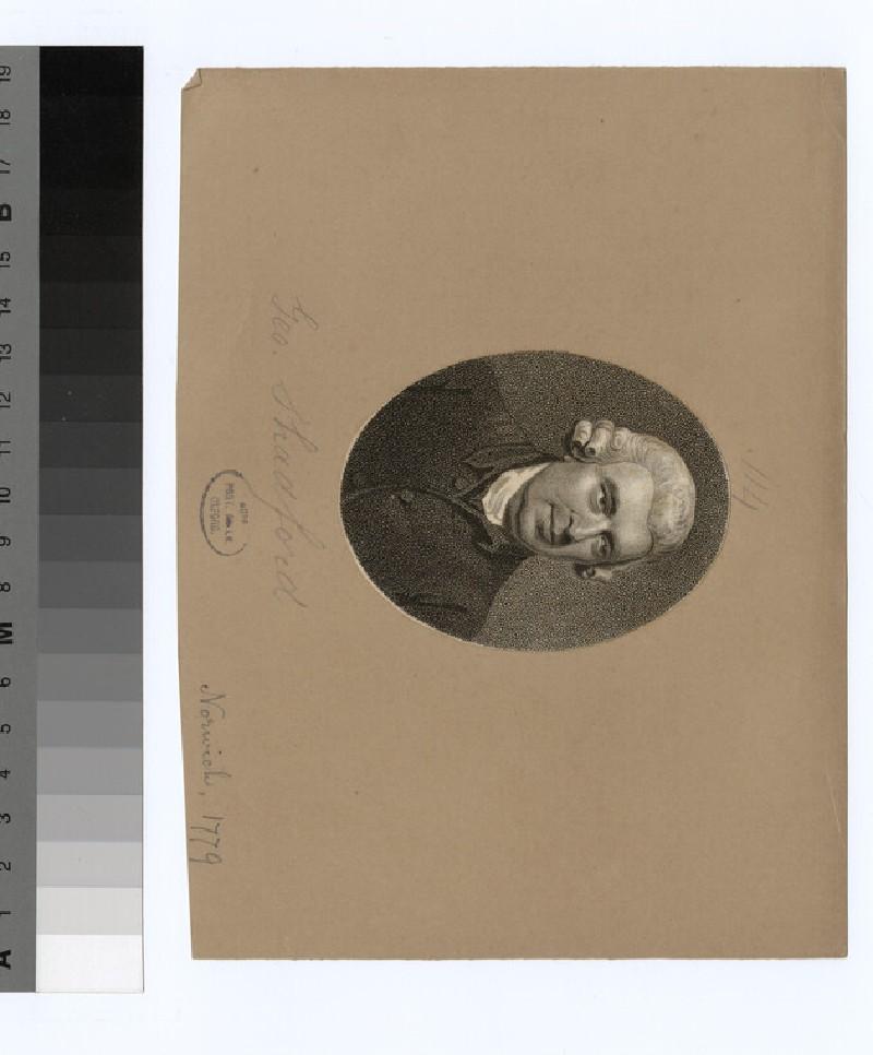 Portrait of G. Shadford