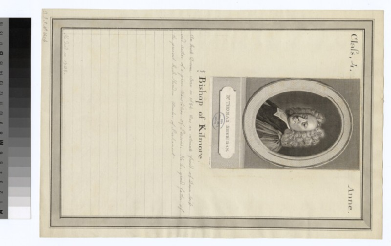 Portrait of Bishop T. Sheridan
