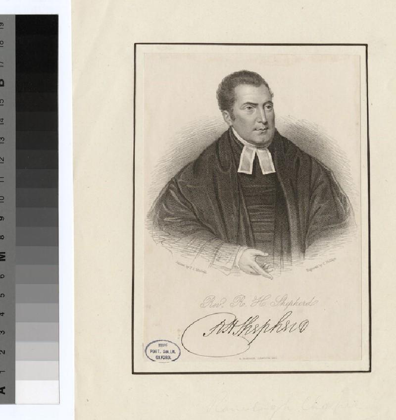 Portrait of the Revd Richard Herne Shepherd