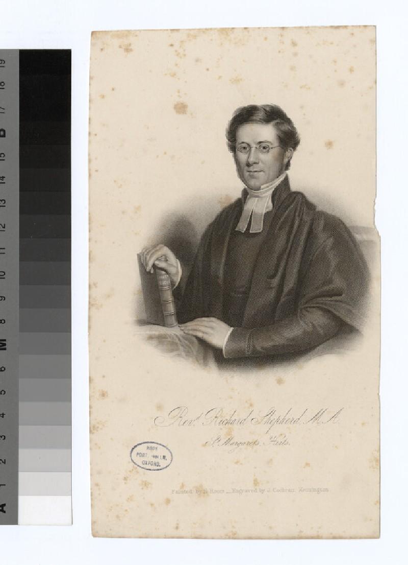 Portrait of R. Shepherd (WAHP24699)