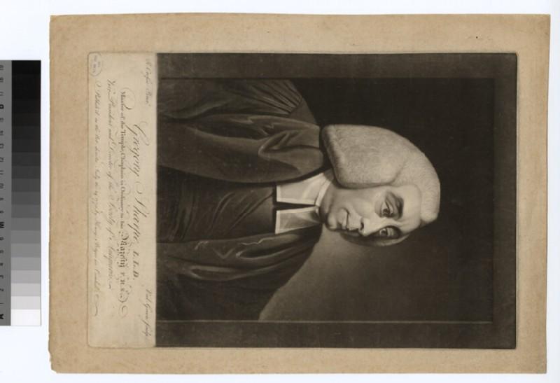 Portrait of Revd Dr G. Sharpe