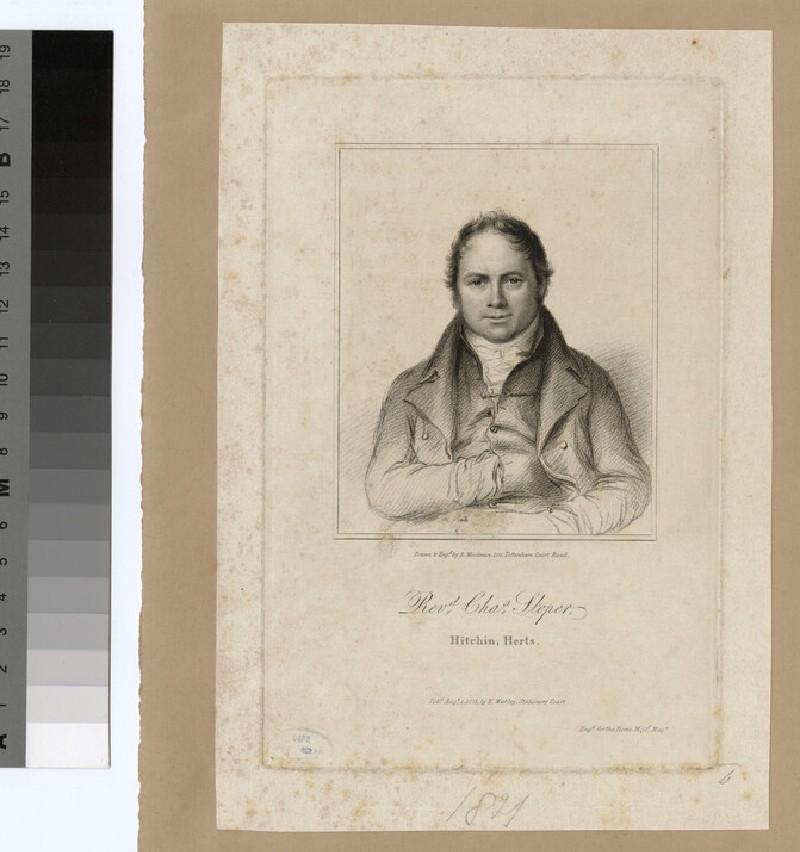 Portrait of C. Sloper (WAHP24734)