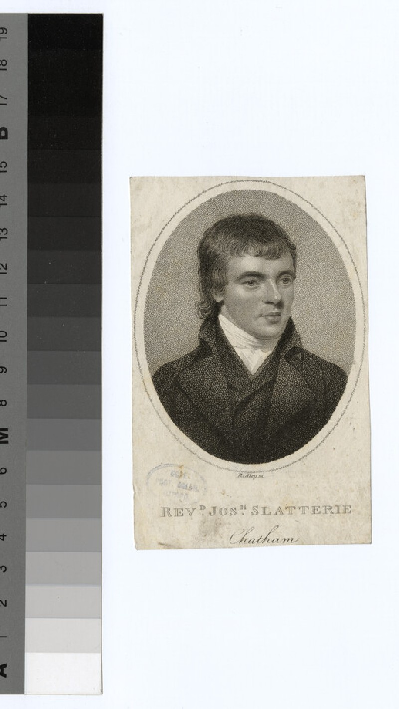 Portrait of Jos Slatterie