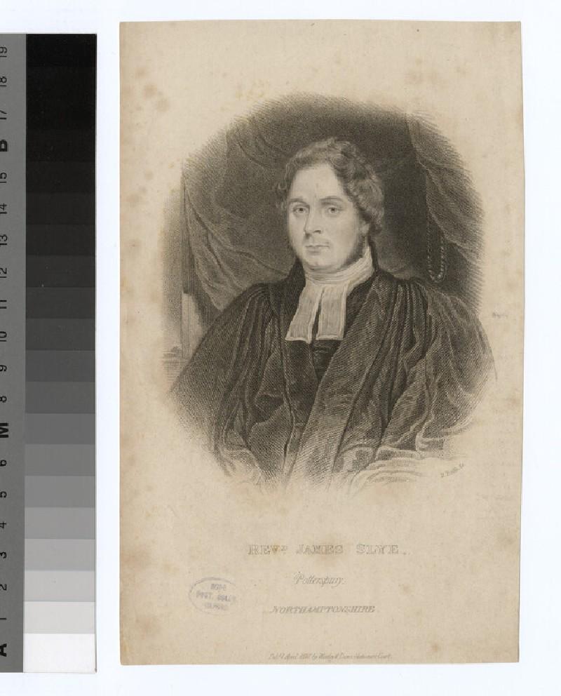 Portrait of J. Slye