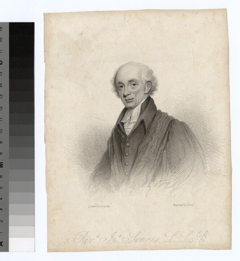 Portrait of J. Simons