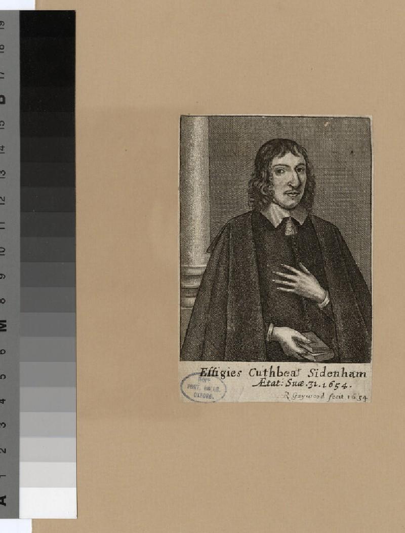 Portrait of C. Sidenham